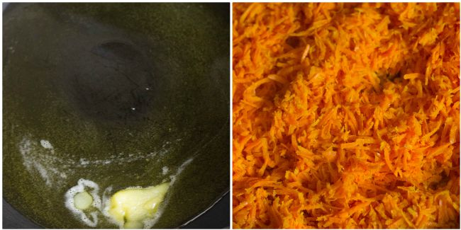 how to make gajar ka halwa, step by step instructions