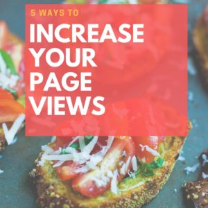 How to increase page views