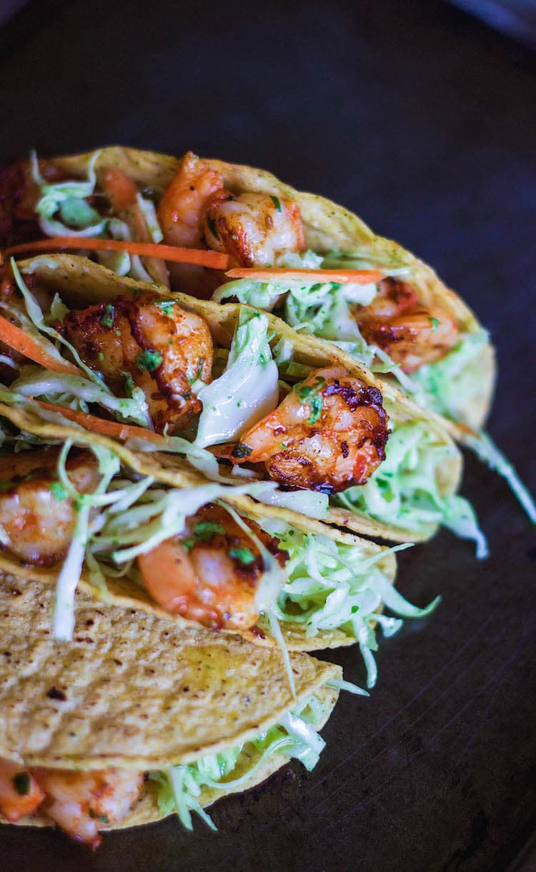 fish taco recipe, easy prawns taco recipe