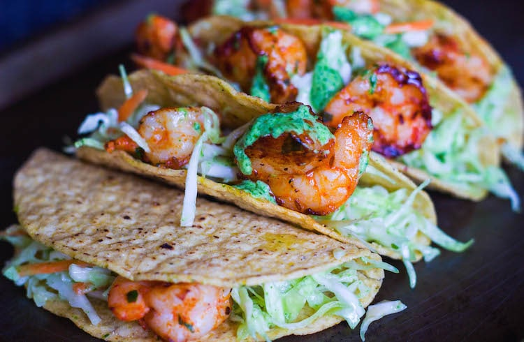 cilantro lime shrimp tacos, fish taco recipe, recipe taco seasoning, taco seasoning,prawns taco, shrimp taco, cilantro garlic sauce, dressing