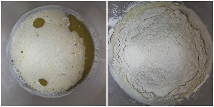 pizza dough steps